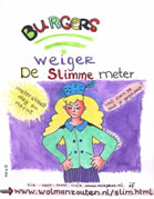 Poster Weiger de Slimme Meter, Miss Bliss, Miep Bos