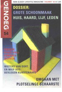 """Interview Wieteke van Dort en Miep Bos in het bald """"Genoeg"""" febr/mrt"""