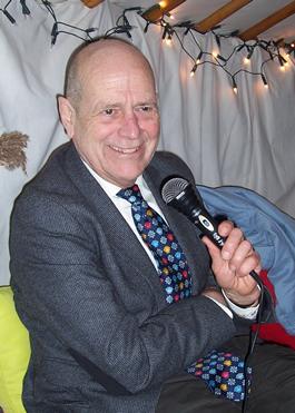Robert Verlinden, te Bussum (foto Miep Bos)