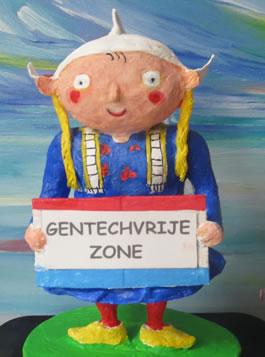 Afbeelding logo De Gentechvrije Burgers.