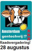 Amsterdam, PvdD, raadsvergadering 28-8-2013