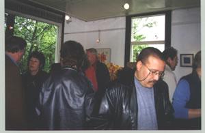 Publiek op de opening gentechvrije expositie te Ede