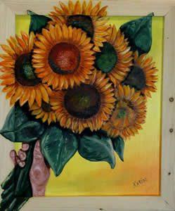 Karin Starmans, zonnebloemen