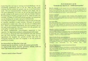 Boekje gentechvrije expositie in de Groene Passage (pagina 4-5)