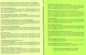 Boekje gentechvrije expositie in de Groene Passage (pagina 6-7)