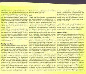 Artikel in Bioscoop (deel 2). Unieke expositie in de Groene Passage Galerie