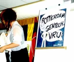 Rotterdam Gentechvrij, gentechvrije expositie in de Groene Passage