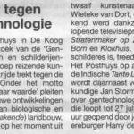 Texel-kunst-tegen-gentechnologie-Texelse Courant, 27-06-2003