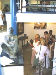 Galerie Posthhuys te Texel, bezoekers gentechvrije expo