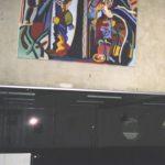 Bioscoop Cine City, schilderij van Frans Verburg