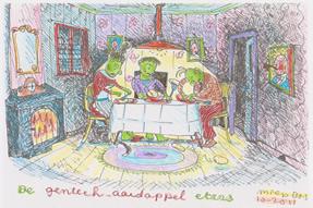 De gentechaardappeleters door Miep Bos