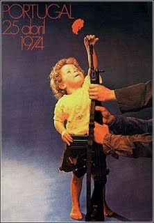 Poster Portugal Anjer Revolutie