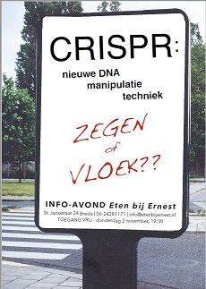 Margalit Laufer gevaren Crispr Cas discussie avond