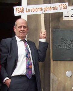 Robert Verlinden voorstander van de terugkeer Volonté Générale