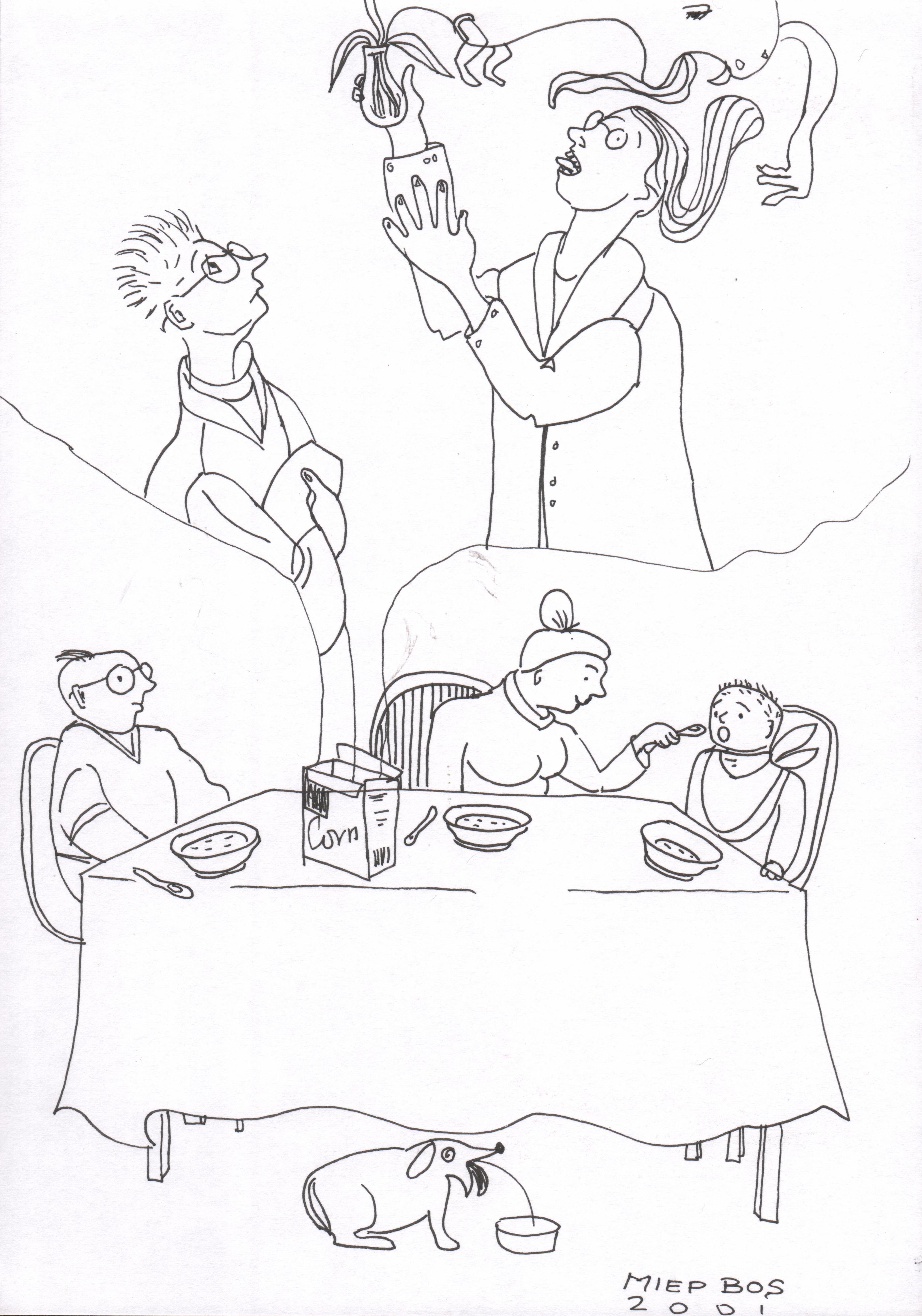 Gentechneuten, Miep Bos 2001