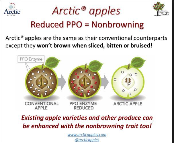 Artic Apples reclame