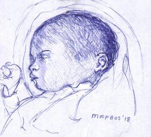 IM 17-004 baby ZA M. Bos 2018