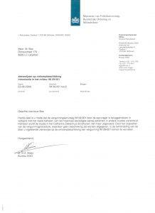 tamarisproIM 09-001 tamarisproef geen patienten Catharina Ziekenhuis