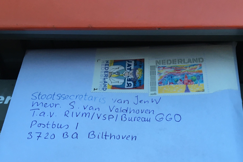 IM-MV-17-005-en18-001 brief aan min foto brievenbus M Bos 27-5-18