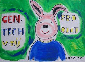Gentechvrij product schilderij Miep Bos