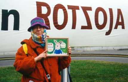 Demonstratie Den Haag 2000 Rotzoja Congresgebouw