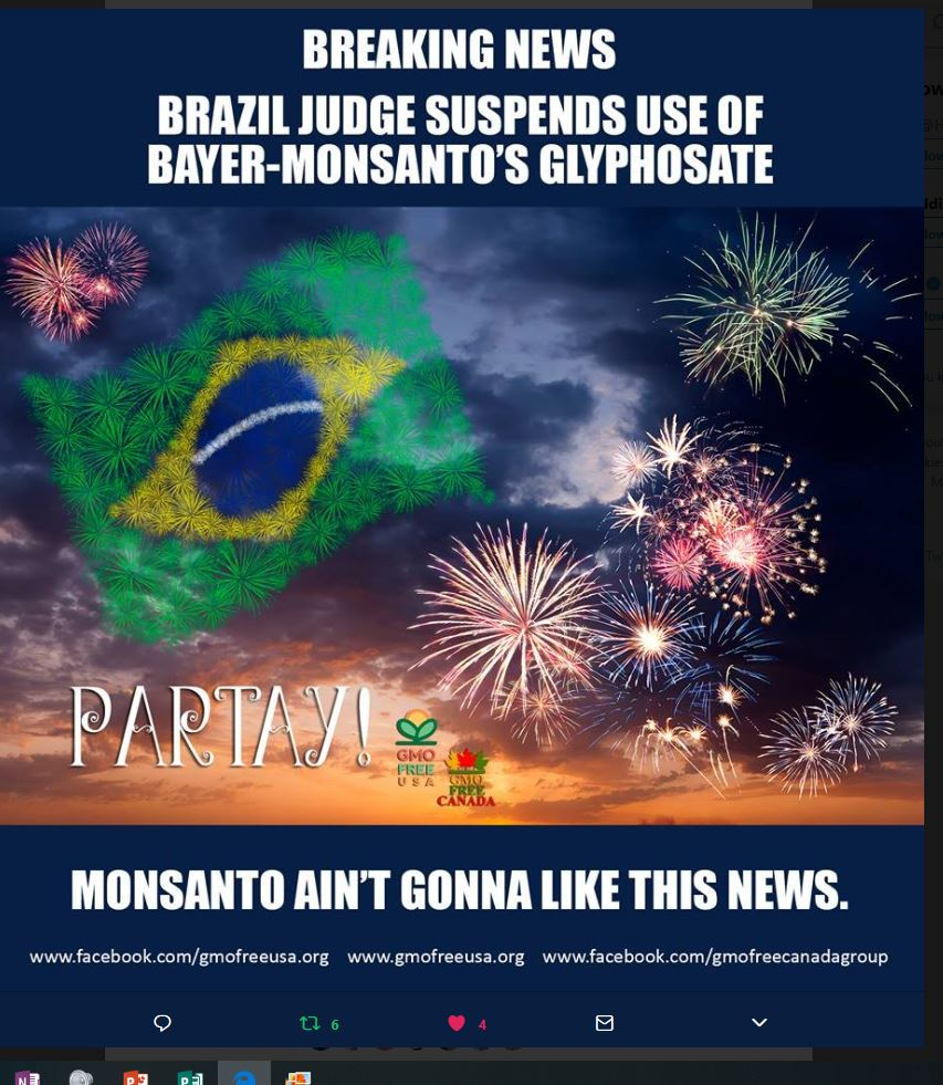 Roundup verboden in Brazilië
