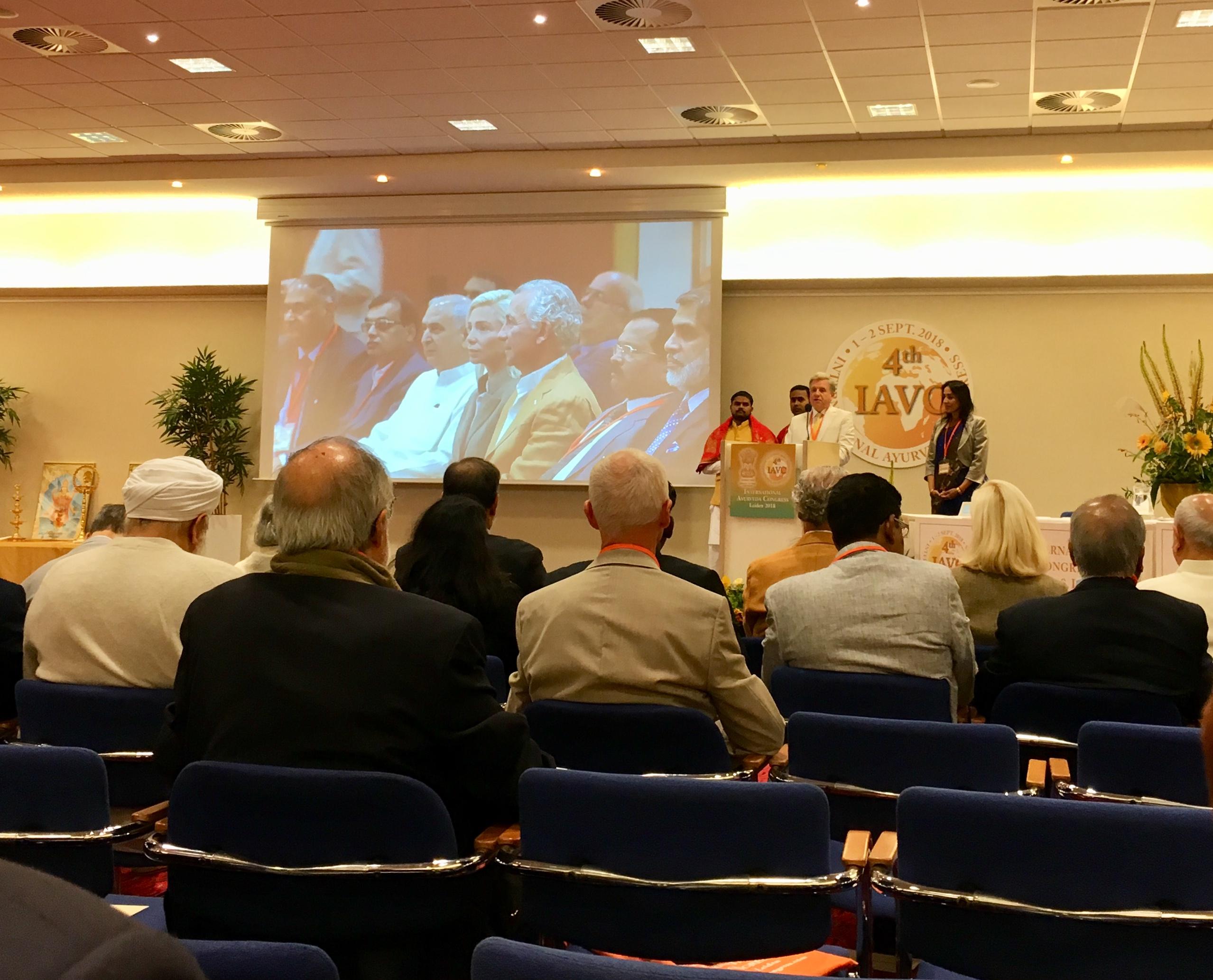 Ayur-Veda-Congres Leiden 2018 opening