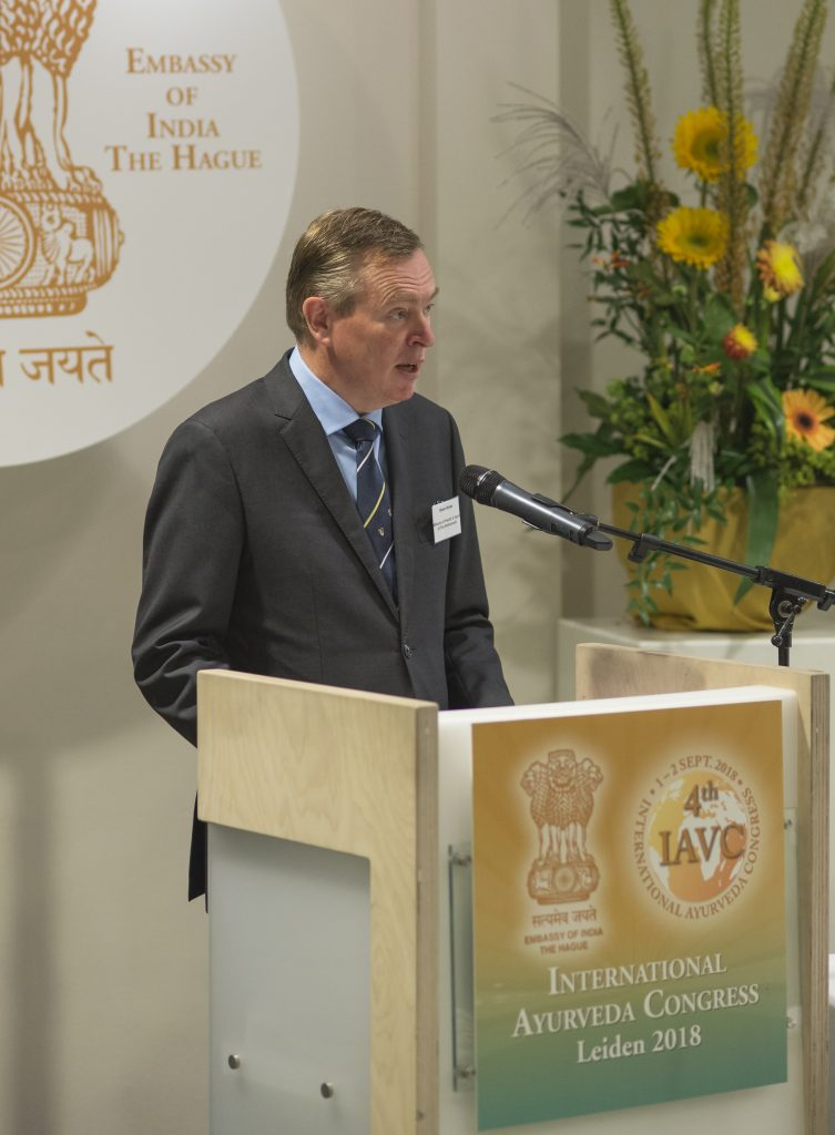 Ayurveda Congres Minister Bruins