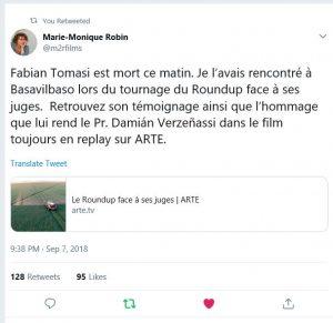 Roundup giftig belangrijke film Marie-Monique Robin 2018