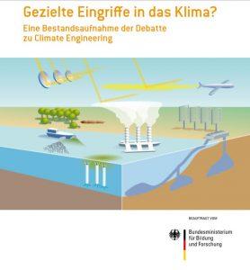 Chemtrails onderzoek Duits ministerie voorblad 2011