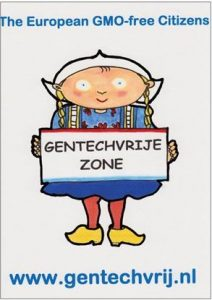 Folder Horeca van de Gentechvrije Burgers over GMO´s 19-11-18