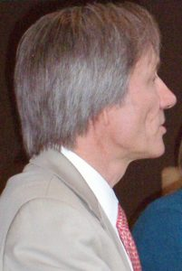 Dr. John Fagan in Amsterdam, foto Miep Bos